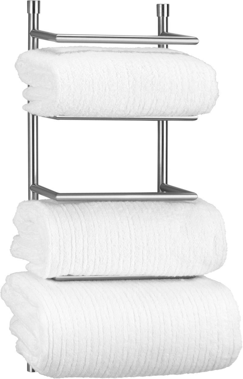 ae towel diy tier dp chrome tools amazon wall uk co l taylor brown mounted rack shelf holder bathroom