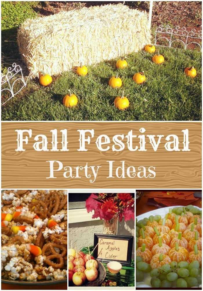 Fall Festival Birthday Party Fall Festival Party And