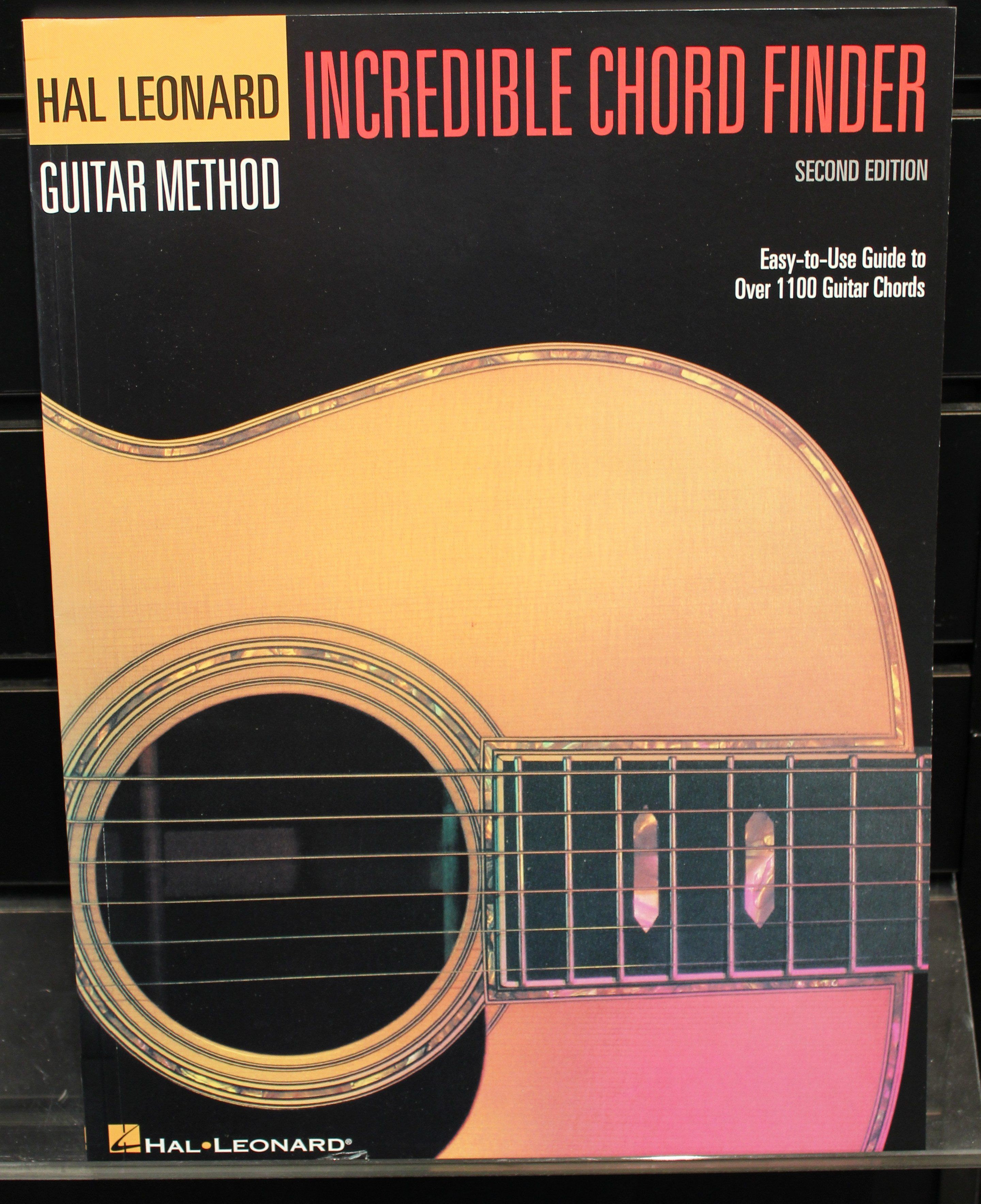 Incredible Chord Finder 9 X 12 Edition Hal Leonard Guitar Method
