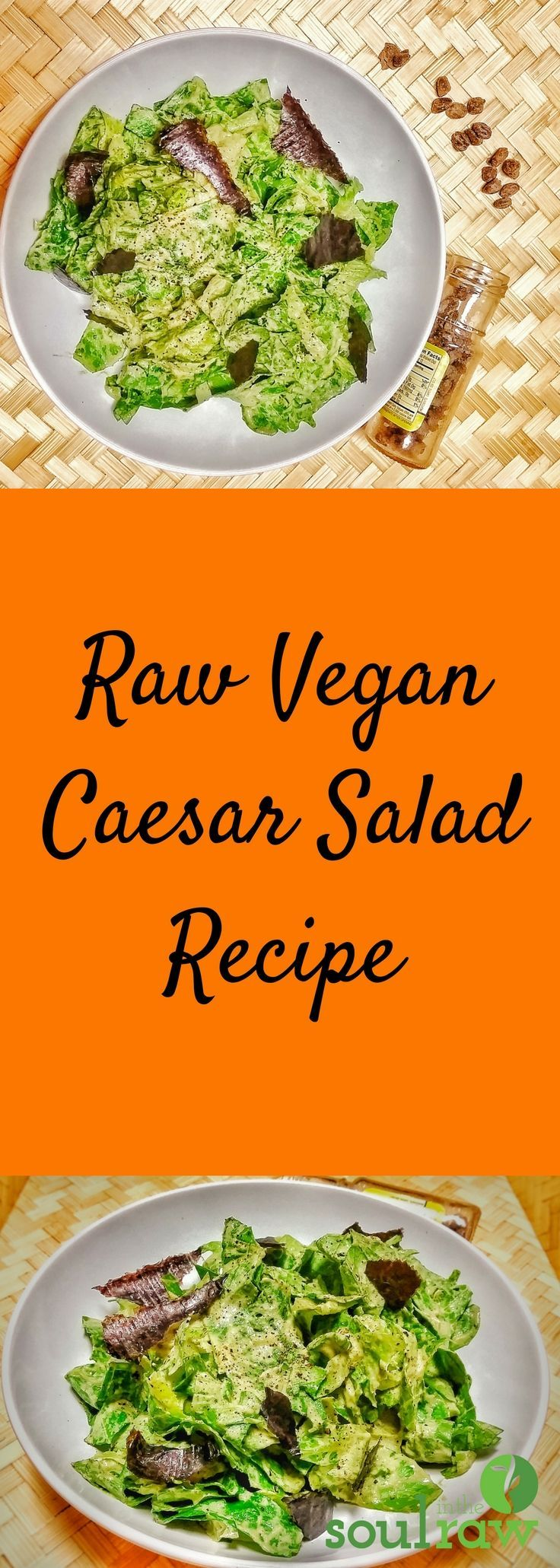 Raw Vegan Caesar Salad