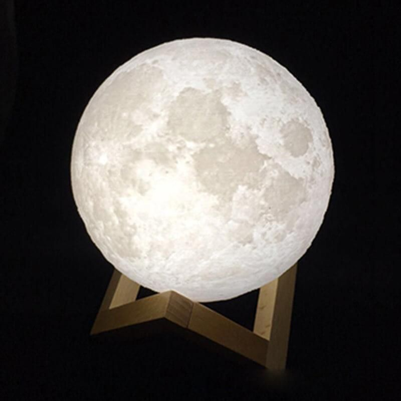 3d Lunar Moon Lamp Night Light Lamp 3d Led Night Light Moon Light Lamp