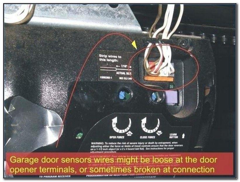 How to bypass chamberlain garage door sensors check more