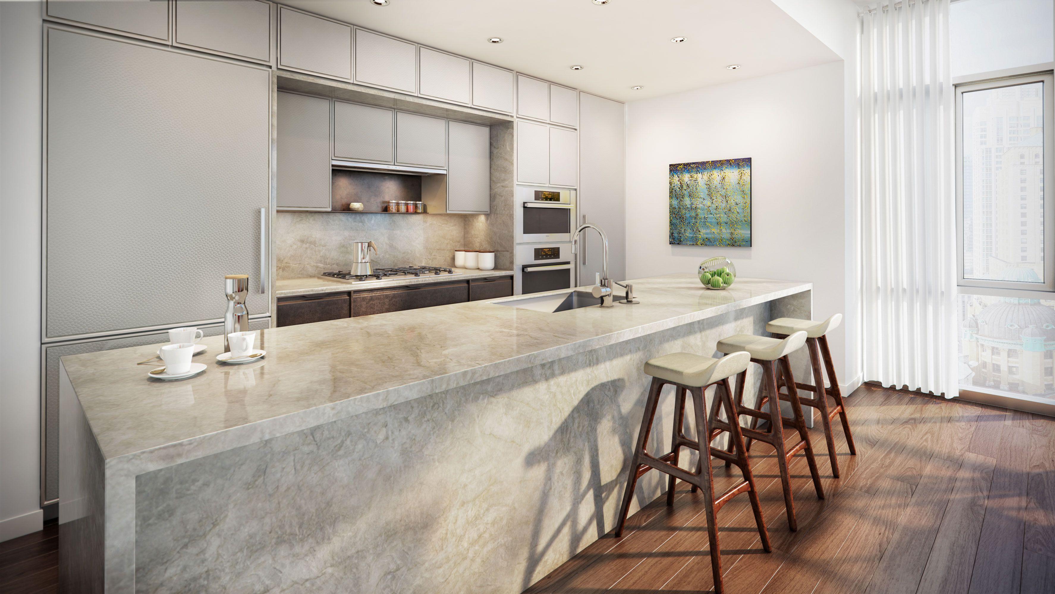 Lower Manhattan Apartments Luxury Kitchen Manhattan