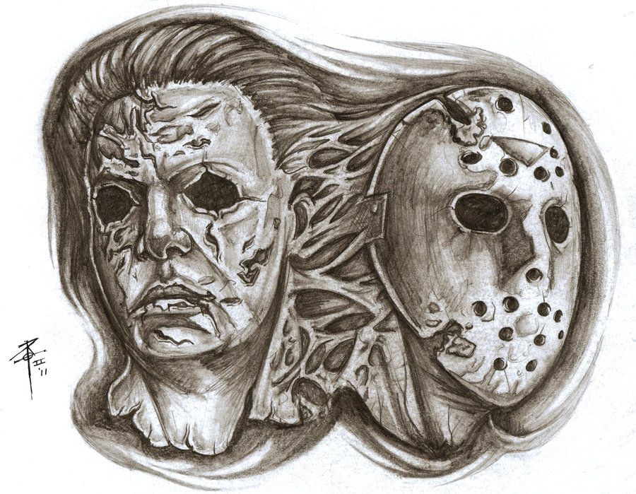 for a client comin in soon, wanted both michael myers and