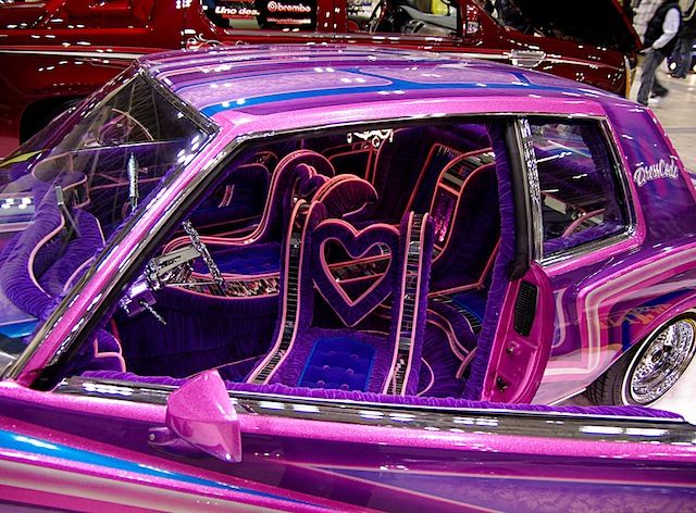 10 Wild Lowrider Car Interiors Cars Lowriders Trucks Vintage
