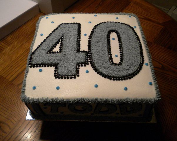 Stupendous 40Th Birthday Cake Ideas For Men Pictures Download Page Home Funny Birthday Cards Online Bapapcheapnameinfo