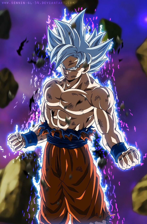 Goku Perfect Ultra Instinct Dragon Ball Gt Dragon Super