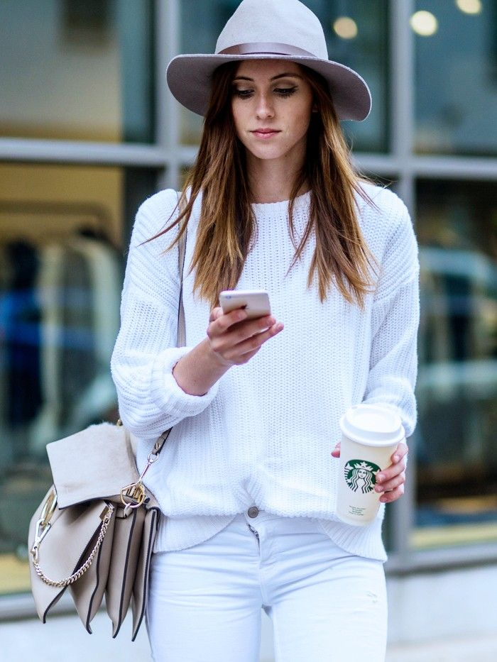What to Wear With White Jeans: 4 Combinations for Nowness via @WhoWhatWearUK