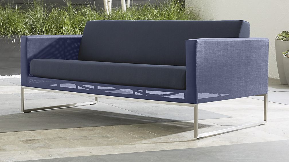 Dune Sofa With Sunbrella ® Cushions | Crate And Barrel