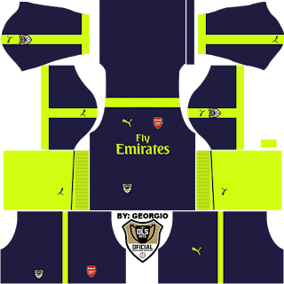 c7fff0887 Dream League Soccer custom kits 2016 arsenal3-1617-dls16