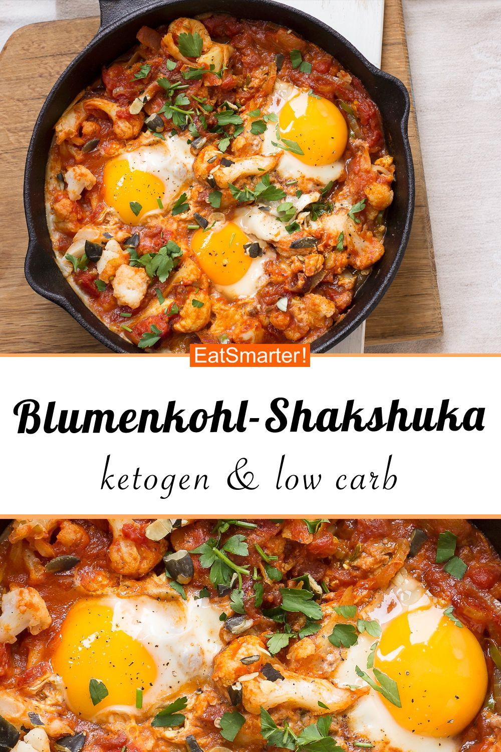 Photo of Blumenkohl-Shakshuka