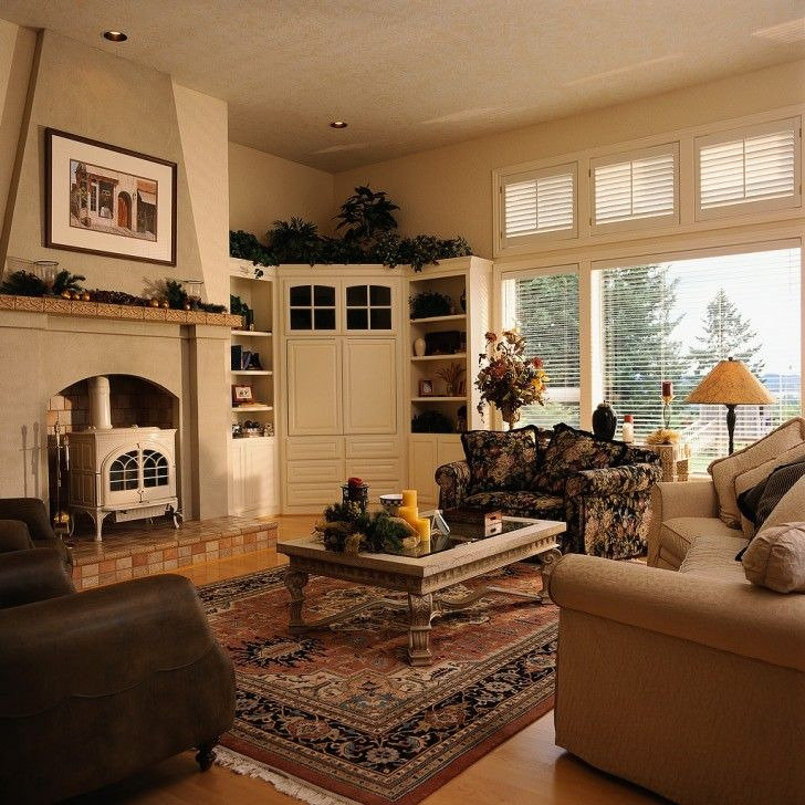 corner tv stand next to fireplace - Google Search | Home decor ...