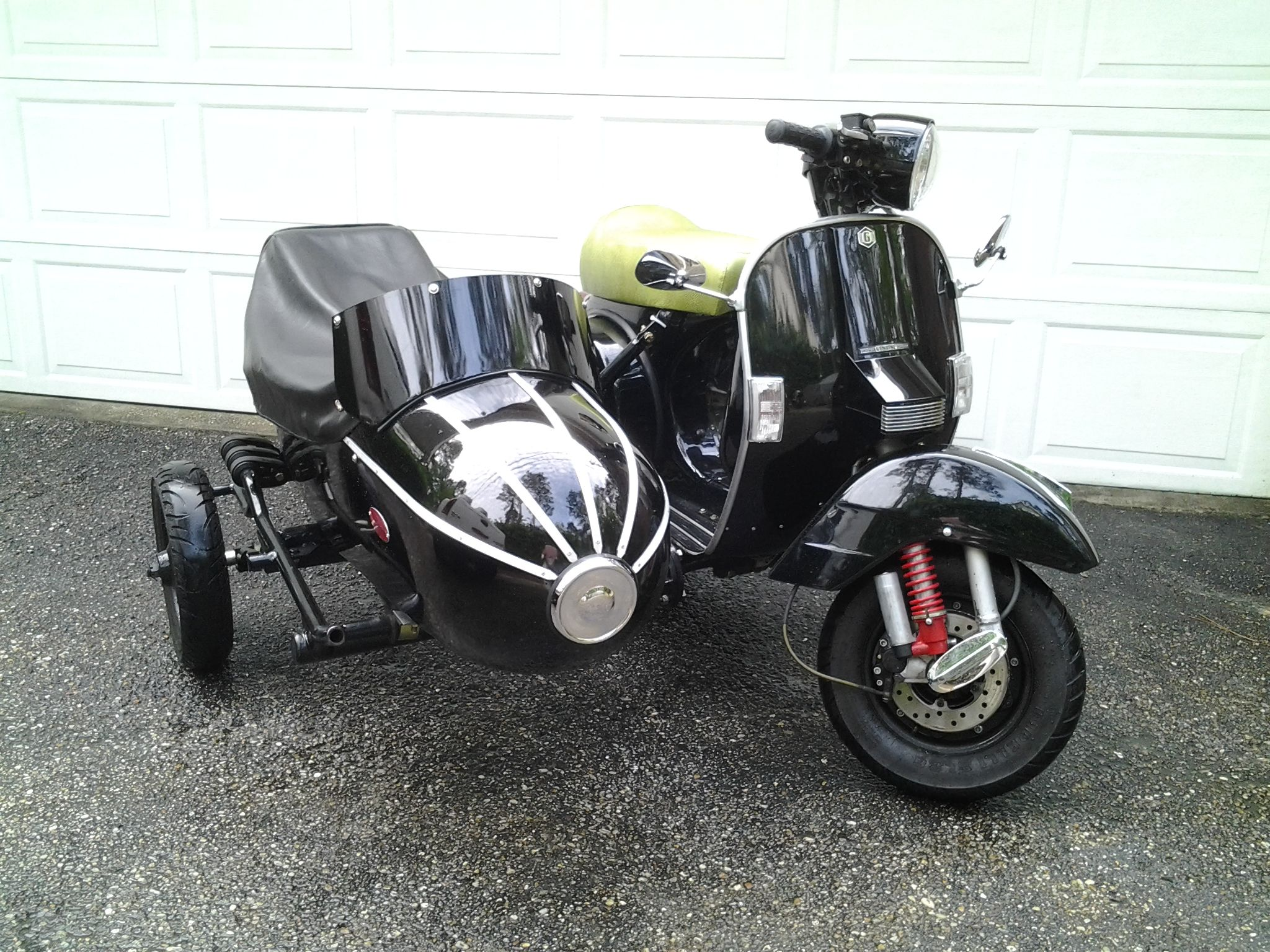 2009 genuine stella 2t 177cc custom with sidecar for sale original owner collector http. Black Bedroom Furniture Sets. Home Design Ideas