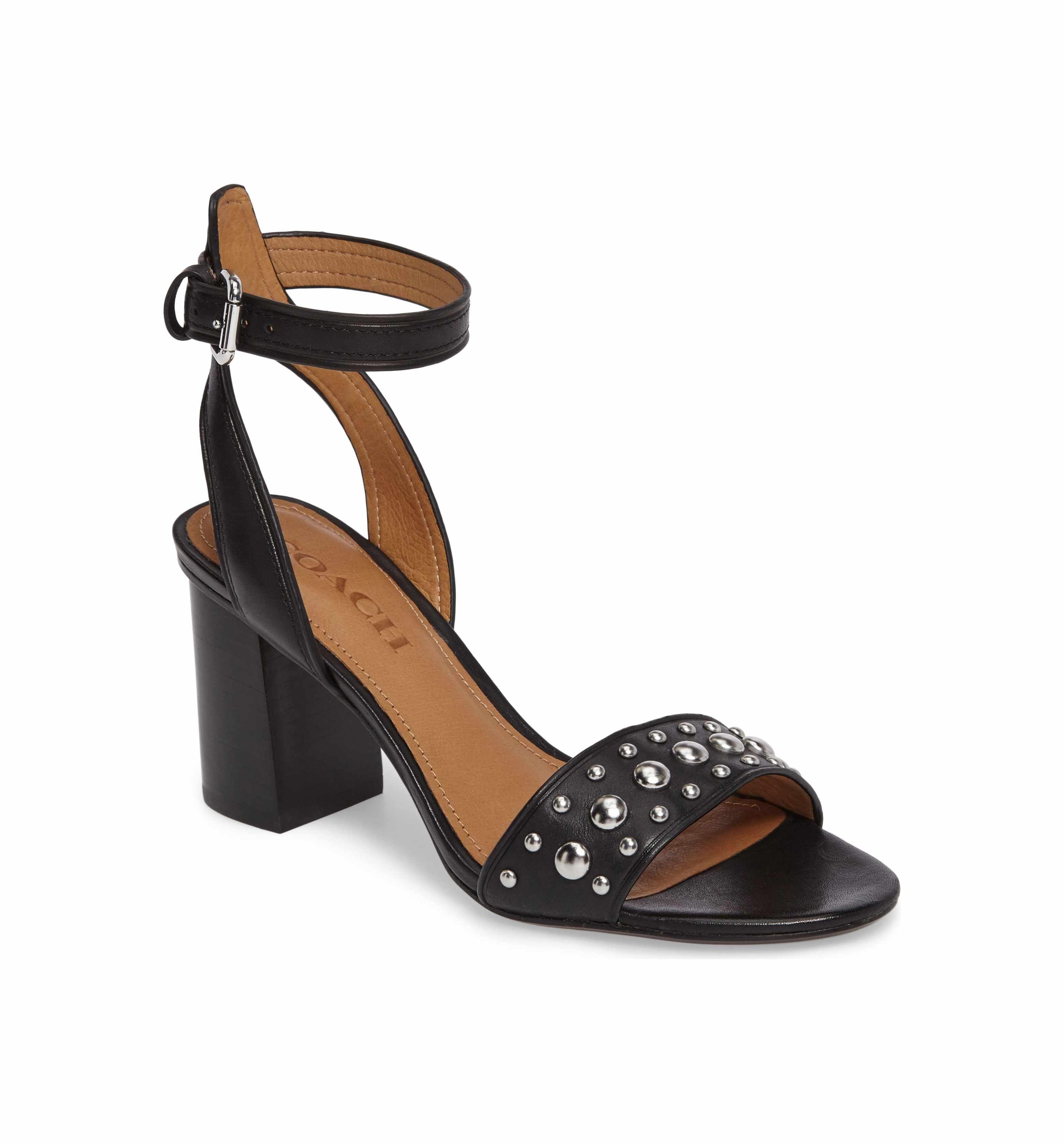 5ab864ea60b0 Main Image - COACH Paige Block Heel Sandal (Women)