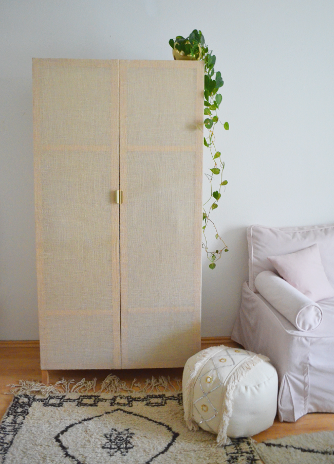 Na, wer von euch hat den schönen Rattan-Schrank aus der diesjährigen Ikea Stockholm- Kollektion noch auf seinem Pinterestboard g... #trendybedroom