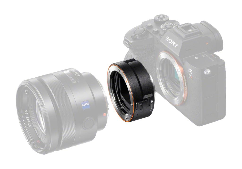 سوني تطلق محول جديد La Ea5 لعدسات A Mount Lenses نيوتك New Tech Lens Adaptor E Mount Lens