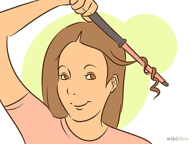 How to curl your hair with a curling wand.