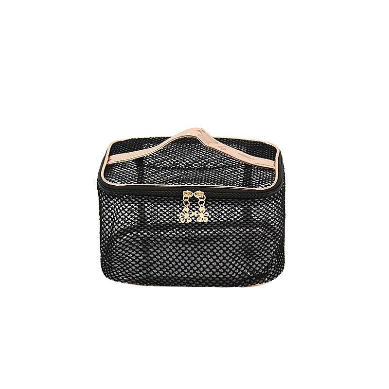Yeo Nylon Travel Women Transpa Sundry Bag Mesh Cosmetics See Through Make Up Bags