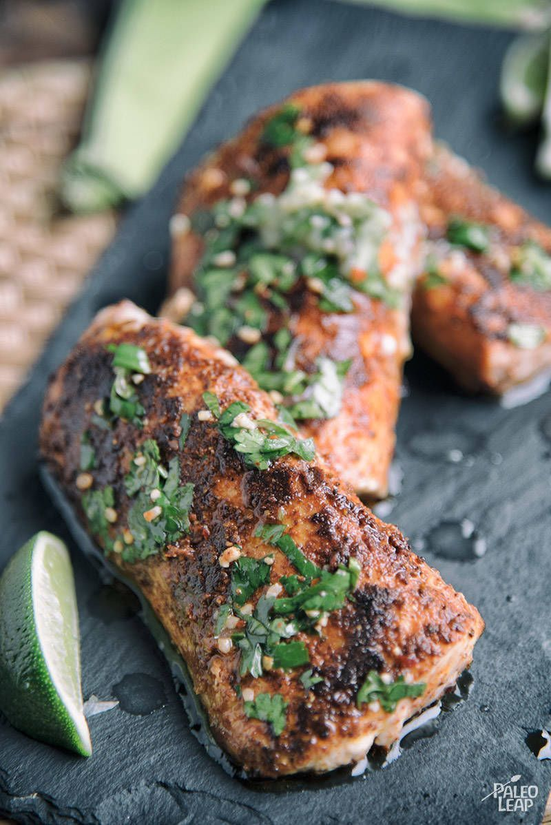 mahi mahi with cilantrolime butter  recipe  paleo