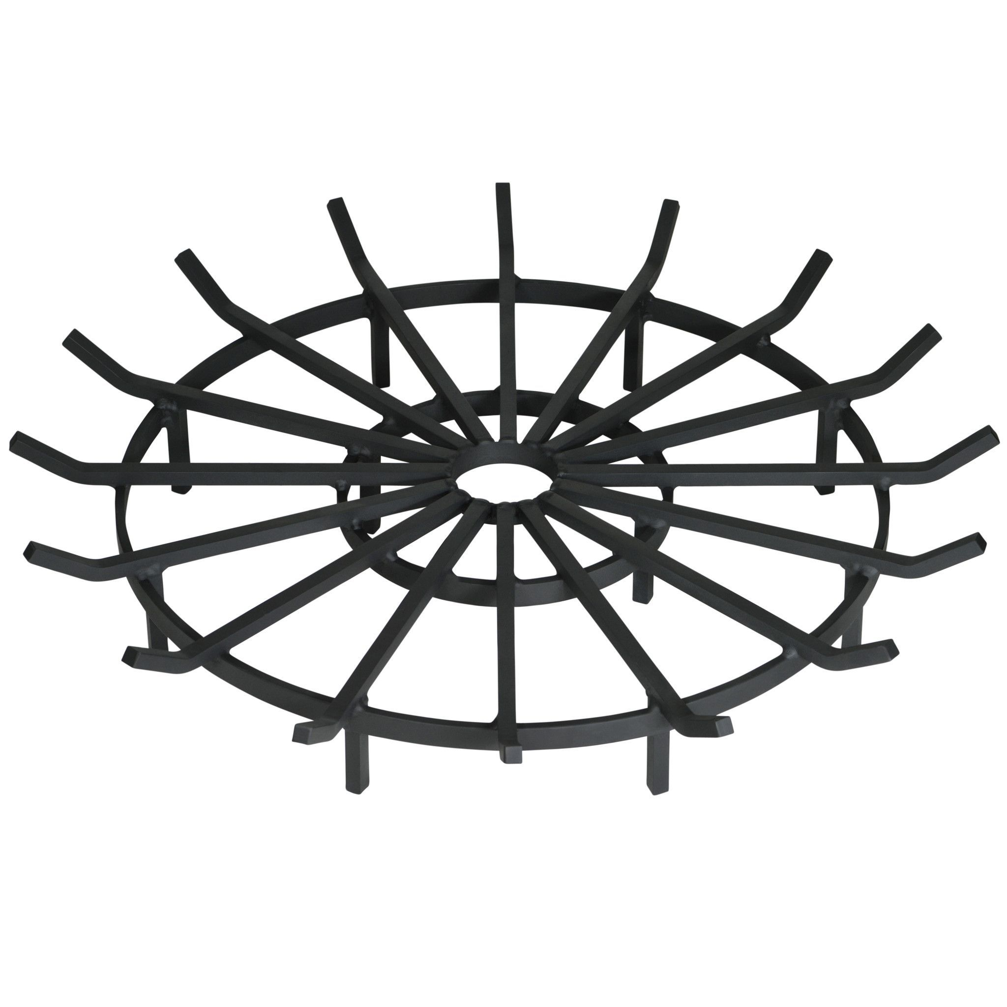 20 Inch Heavy Duty Wagon Wheel Fire Pit Grate | Products