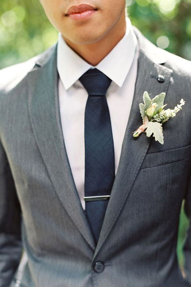 30 The Most Popular Groom Suits | Weddings, Groom grey suits and ...