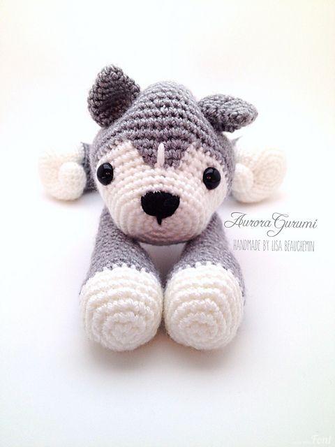 Ravelry: Nanook Husky pattern by Lisa Beauchemin | Crochet | Pinterest
