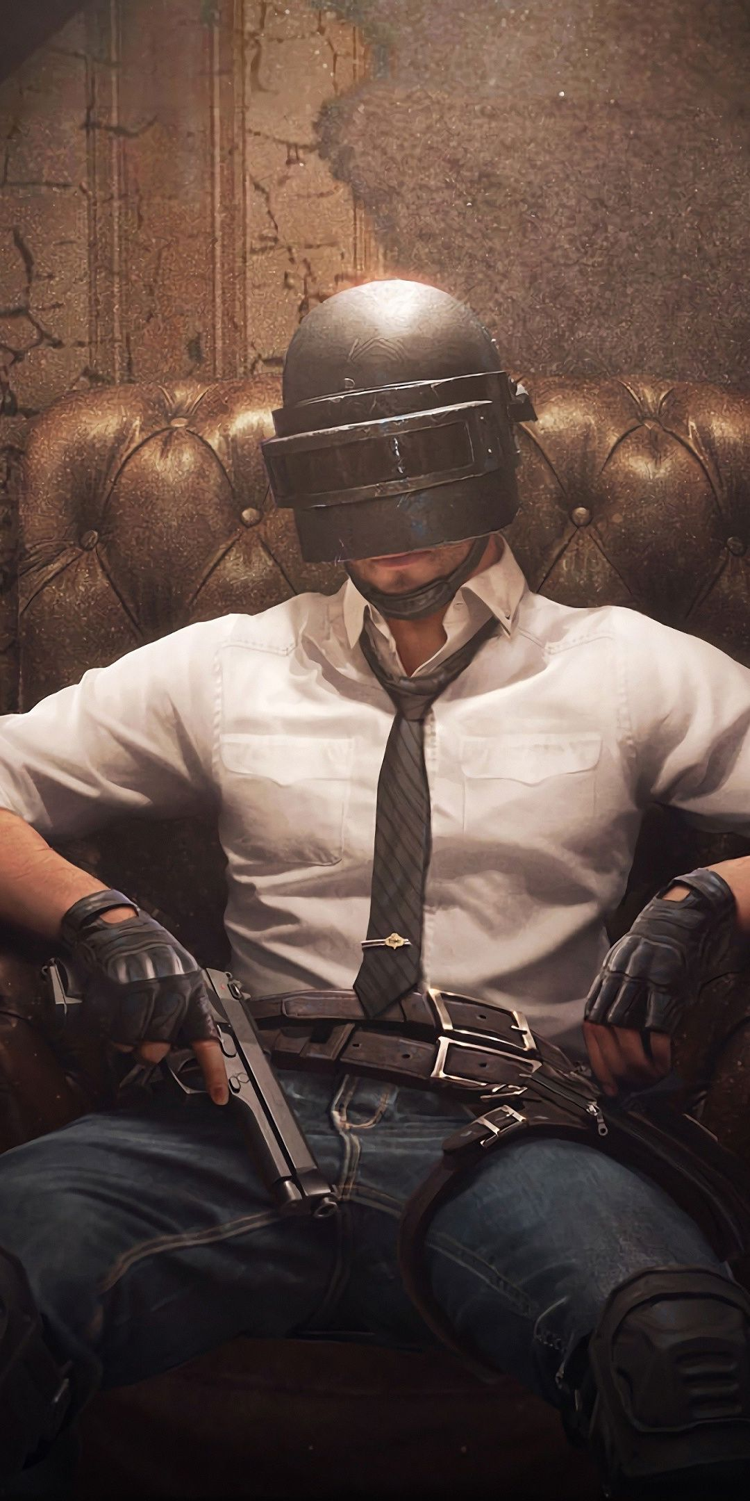 PUBG, PlayerUnknown's Battlegrounds, helmet guy as Boss