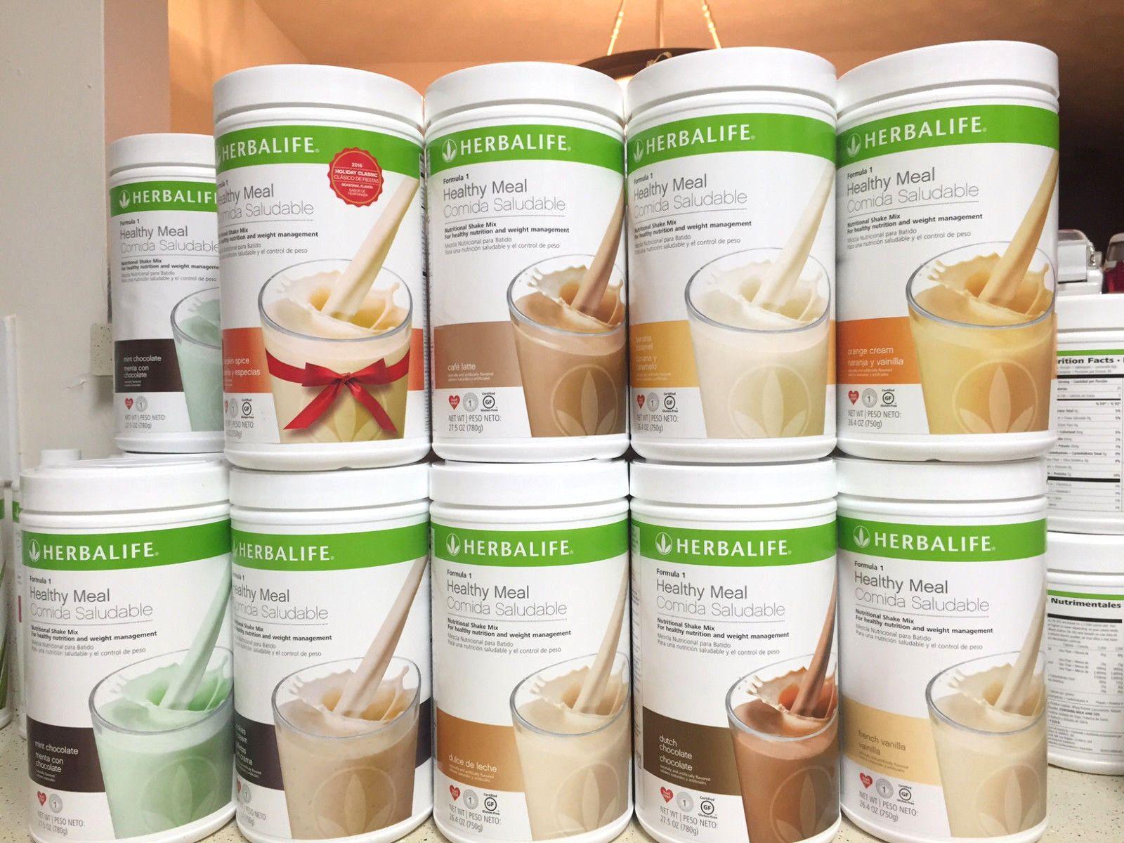New Herbalife Formula 1 Healthy Nutritional Shake Many Flavors Free Shipping Nutrition Shakes Nutritional Shake Mix