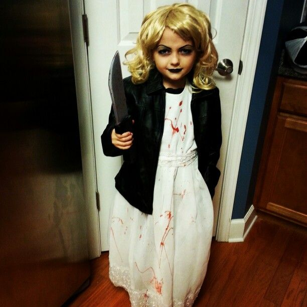 My horror obsessed 7yr old Bride of Chucky:)   Bride of ...