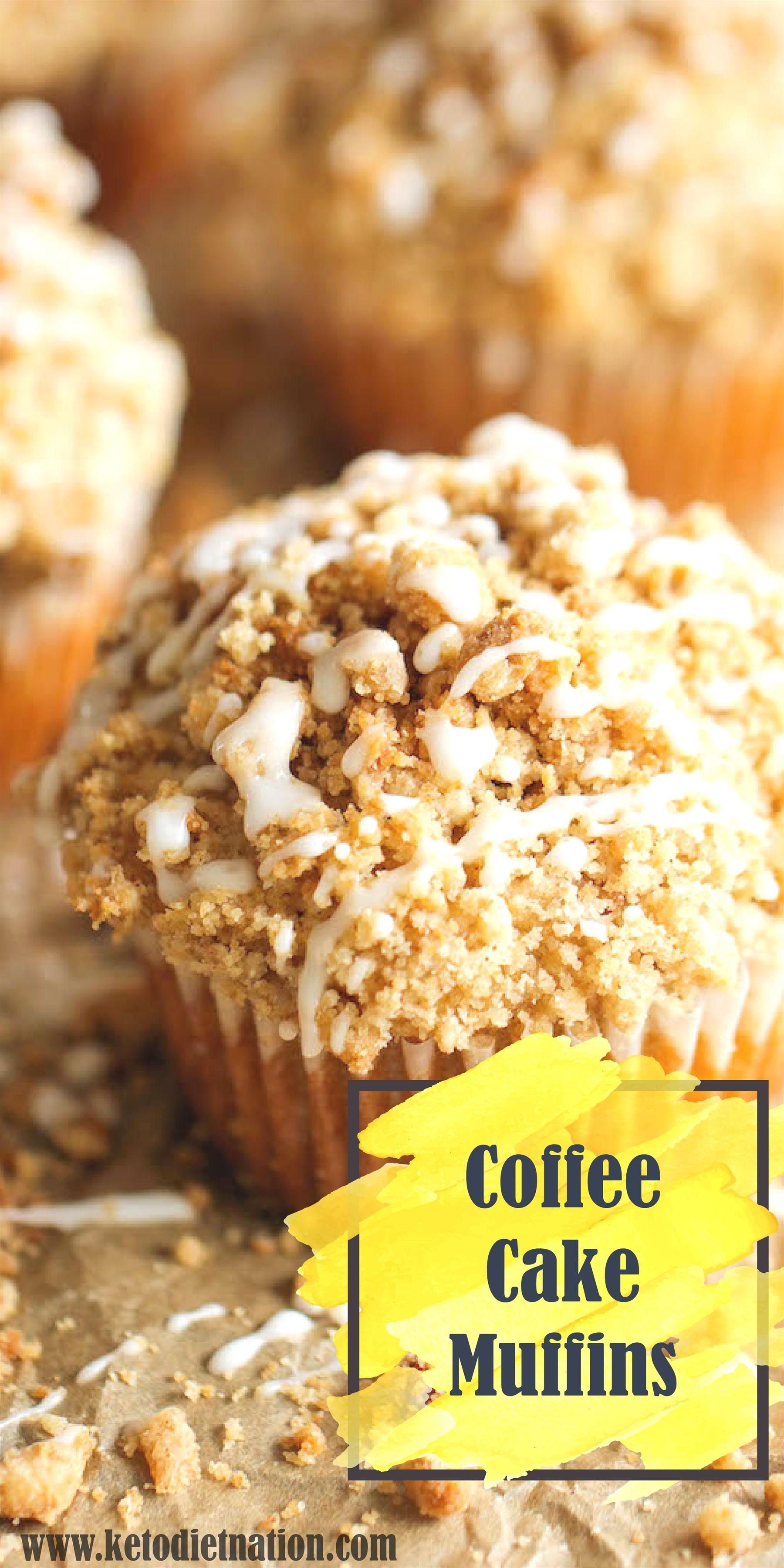 Coffee Cake Muffins Low Carb, Keto, GlutenFree in 2020