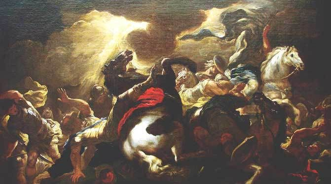 The Conversion of St. Paul - Giordano
