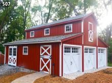 Custom Garage Barn Style Garage Doors Monitor Barn Shed Plans