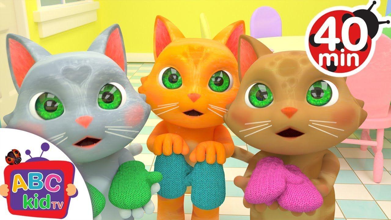 Three Little Kittens + More Nursery Rhymes & Kids Songs
