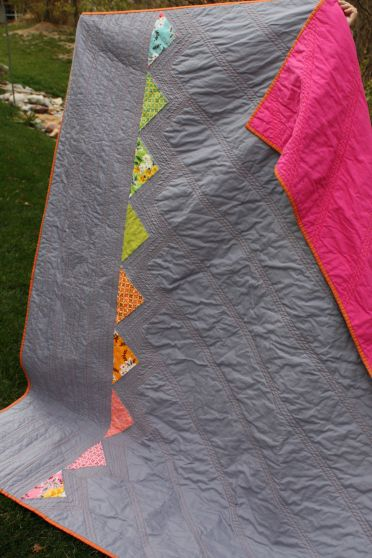 Challenge Winner #3: Mary Claire Allen    || JMM: I like this quilting pattern, leaving big open areas.