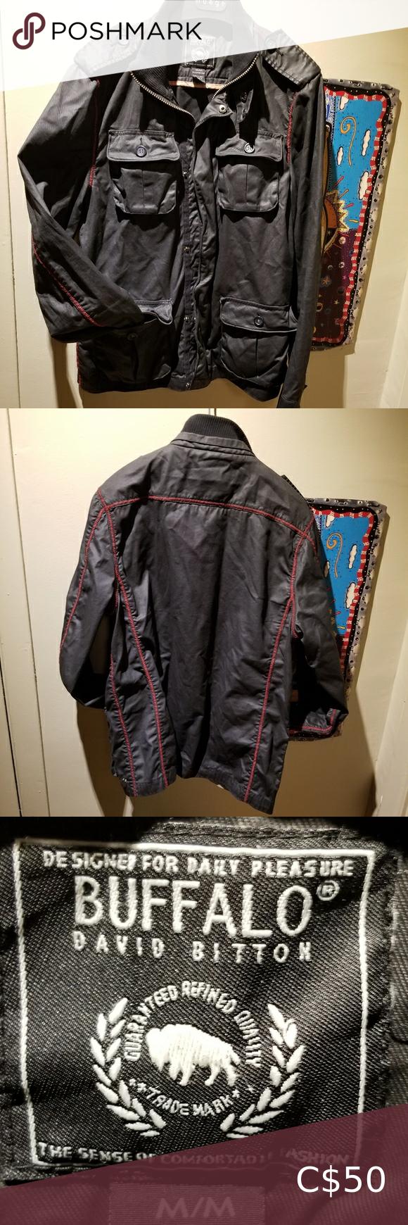 Buffalo David Bitton Black Waxed Jacket Size M Wax Jackets Buffalo David Bitton Buffalo Jacket [ 1740 x 580 Pixel ]