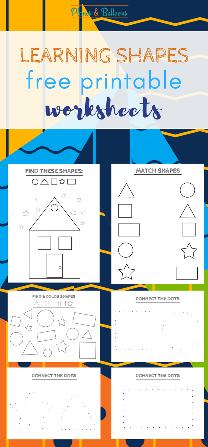 free printable shapes worksheets coloring pages and tracing