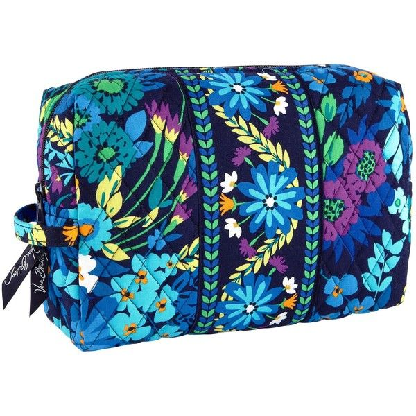 Vera Bradley Large Cosmetic 30 Liked On Polyvore