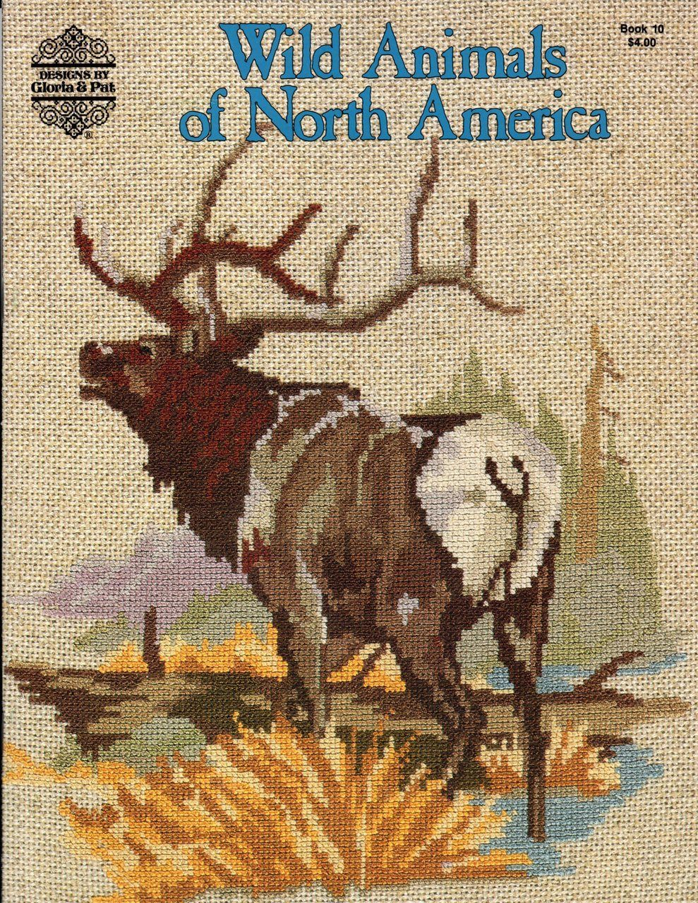 DIY Counted Cross Stitch Patterns Needlework for Embroidery Beautiful Cougar