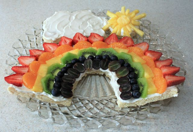 Rainbow fruit Snack from delightfullearning.blogspot.com ! AWESOME!