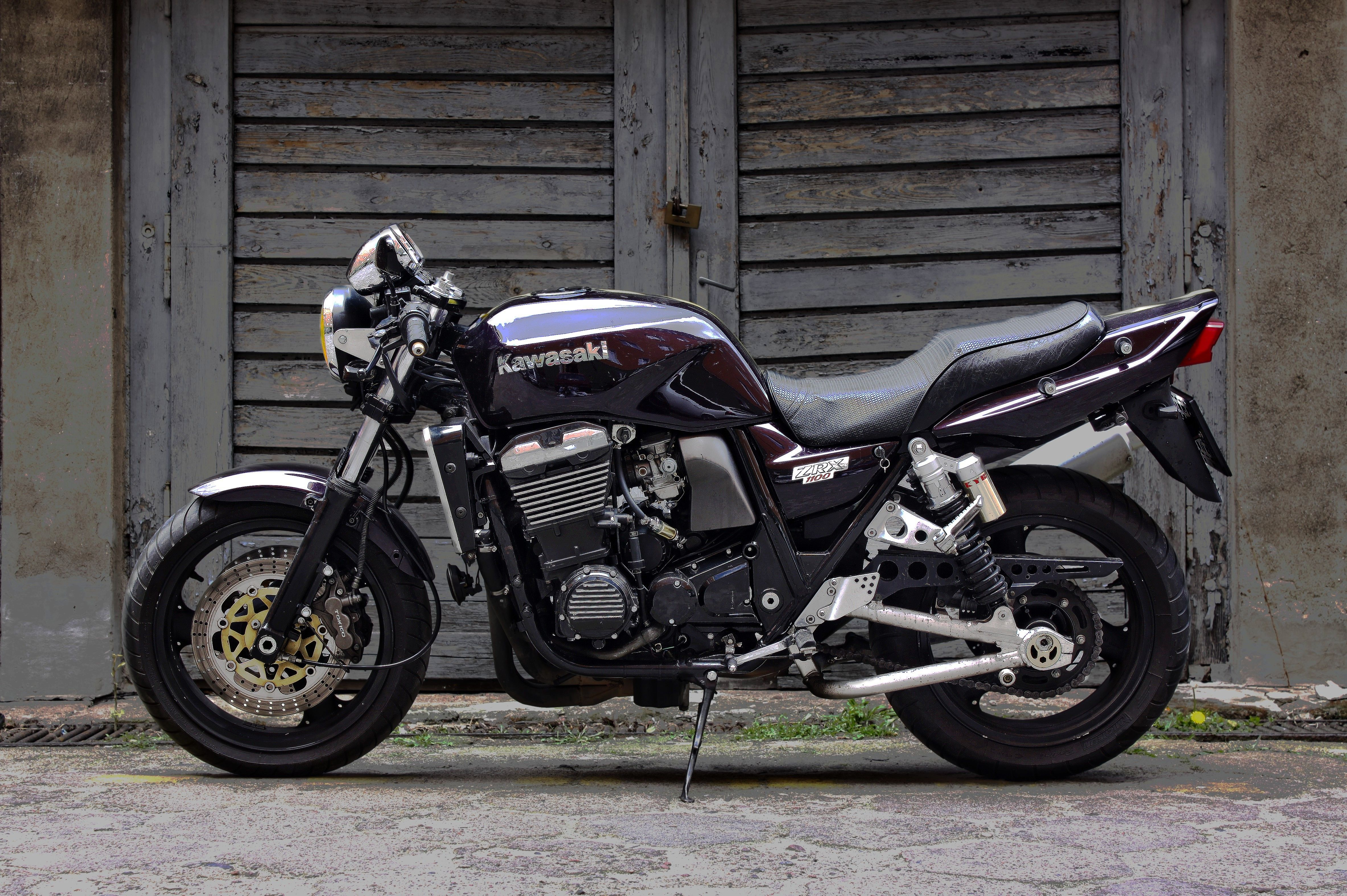 kawasaki zrx 1100 street cafe racer | my projects | pinterest