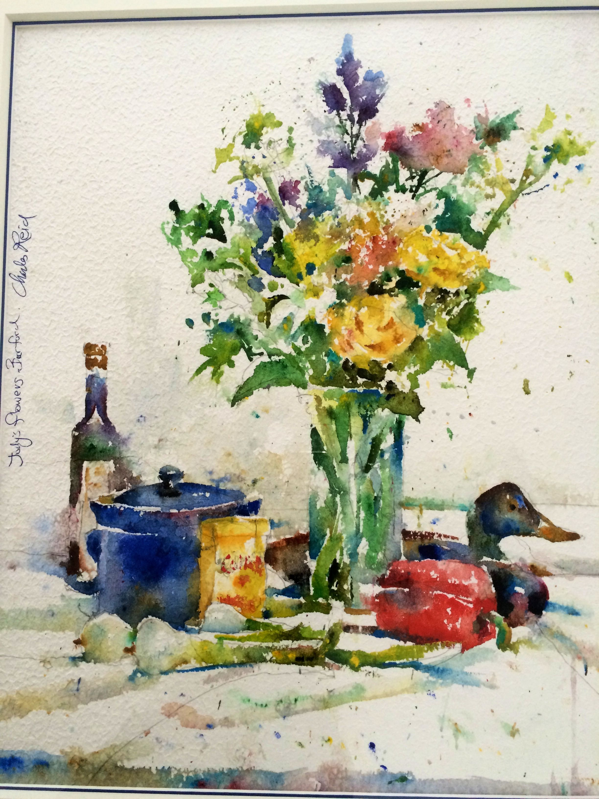 Still Life Watercolor By Charles Reid With Images Charles Reid