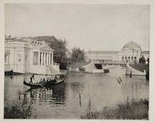 1893 Chicago Worlds Fair Merchant Tailors Bldg. Gondola