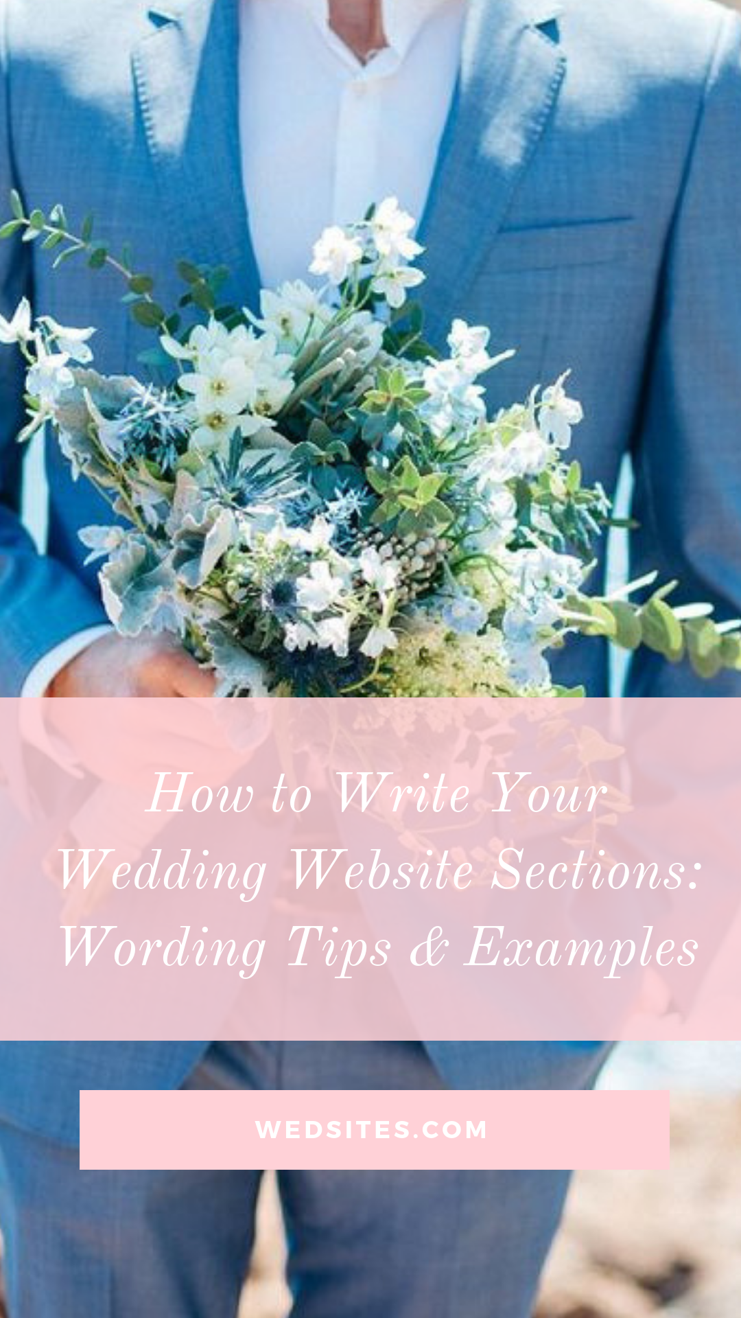 How to Write Your Wedding Website Sections Wording Tips