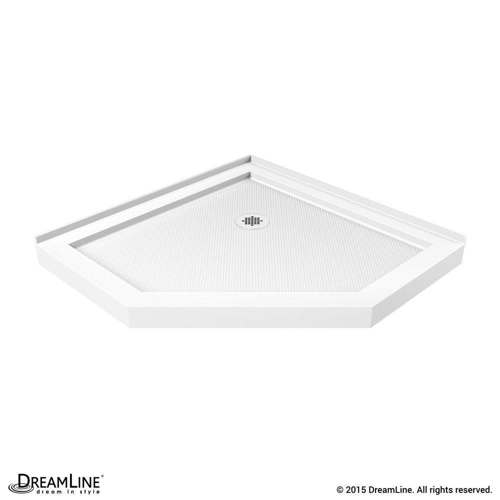 Slimline 40 Inch X 40 Inch Neo Shower Floor In White Shower Base