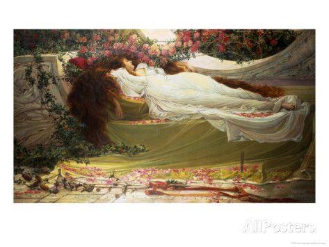 The Sleeping Beauty Lámina giclée