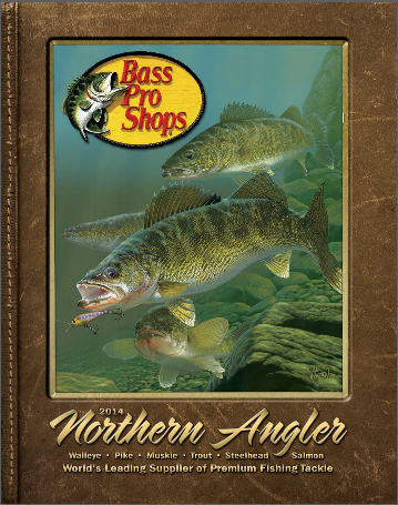 Click to view the Bass Pro Shops Northern Angler 2014 catalog online