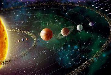 Orden Cosmico In 2020 Solar System Wallpaper System Wallpaper Planets