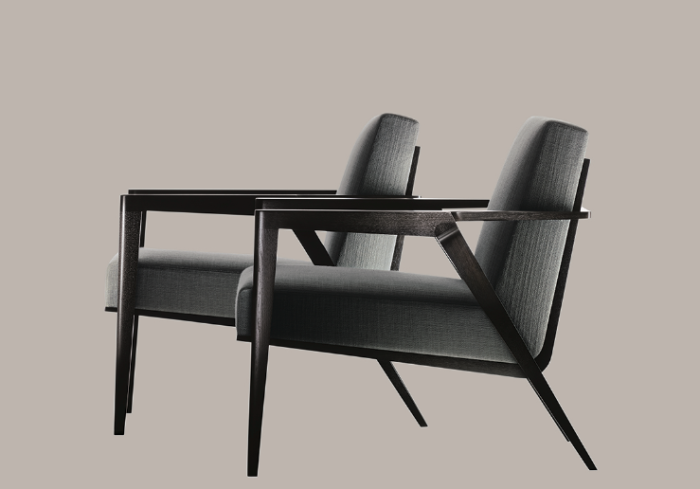 Odense Chair By Holly Hunt Studio.