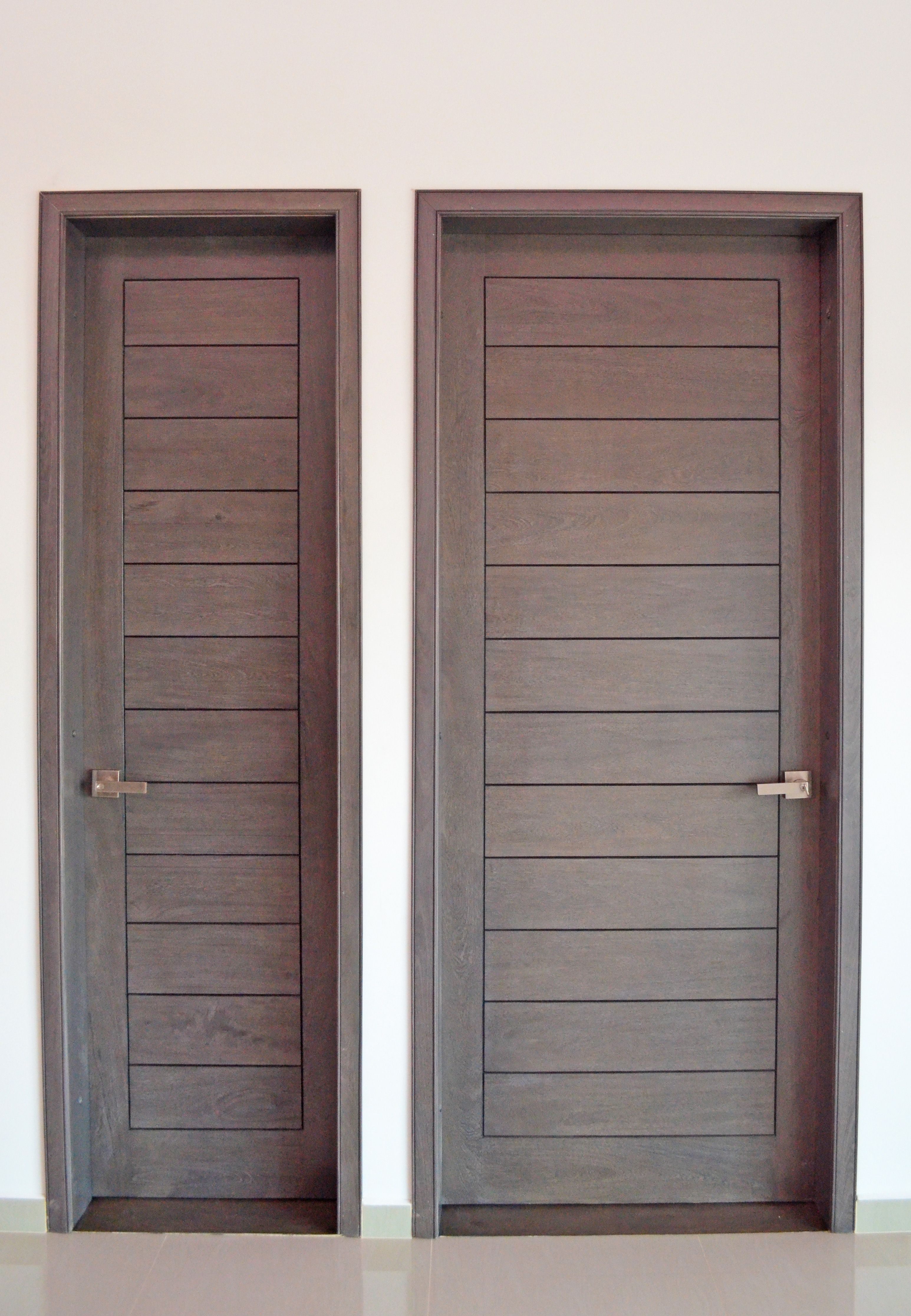 Baobab mobiliario puertas de paso colores grises y gris - Colores de puertas de madera interiores ...