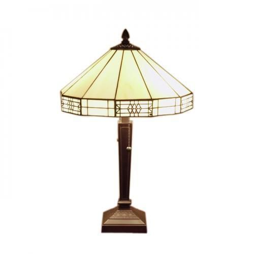 Mission style white 2 light table lamp warehouse of tiffany style mission style white 2 light table lamp warehouse of tiffany style table lamp aloadofball Gallery